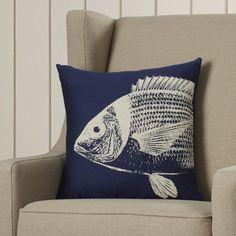Found it at Wayfair - Pembrey Sea Fish Throw Pillow