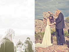 A Music Filled Mountaintop Wedding: Sarah + Tommy  A mountain top wedding! Swoon!