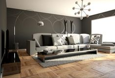 black white and gray room ideas | 21 Stunning Minimalist Modern Living Room Designs for a Sleek Look ...