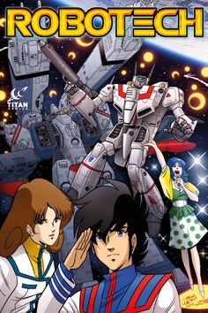 'Robotech' Is Coming Back as a Comic Book  Titans Comics is reviving the franchise with writer Brian Wood.  read more