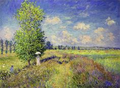 The Summer, Poppy Field ~ Claude Monet
