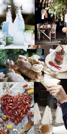 dukningstips till kräftskivan, crayfish party - www.hemtrender.com