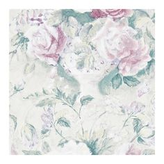 Sanderson Giselle Wallpaper ($80) ❤ liked on Polyvore featuring home, home decor, wallpaper, backgrounds, pictures, floral wallpaper, sanderson wallpaper, flower pattern wallpaper, ceramic home decor and flower wallpaper