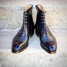 Ascot Shoes — Some ultra cool blue boots by RogerP of Styleforum...