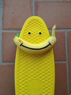 Banana Board. Penny Board Yellow