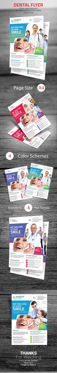 Dental Flyer - #Corporate #Flyers
