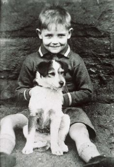 Sean Connery as a young boy.