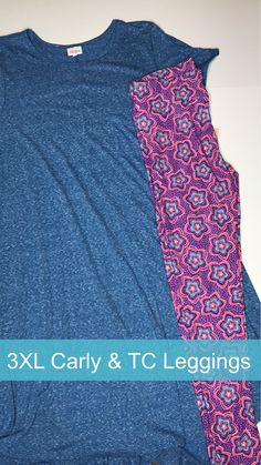 3XL Carly dress and Tall & Curvy Leggings.  Come shop in my FB group: LuLaRoe Jill Drexhage.  Click to shop