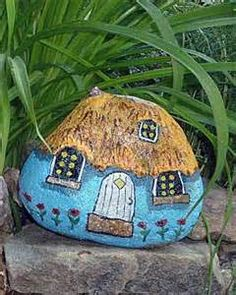 gnomes painted on rocks - Yahoo! Image Search Results
