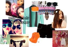 """Day with My Bestfriends"" by graycen on Polyvore"