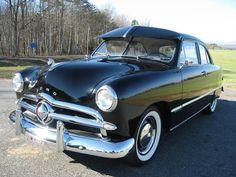 1949 Ford Custom 2 Door Sedan-beautiful!