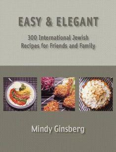 Easy  Elegant 300 Kosher International Jewish Recipes -- Visit the image link more details.