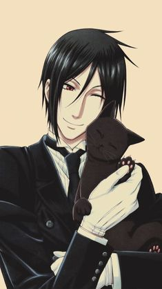 phone wall paper red phone wallpaper for guys Sebastian Michaelis Phone Wallpap. Black Butler Sebastian, Black Butler 3, Black Butler Anime, Anime Manga, Anime Guys, Images Kawaii, Black Butler Wallpaper, Anime Fanfiction, Black Butler Characters