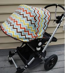 Tutorial: Make a new cover for removable stroller canopy | Sewing | CraftGossip.com