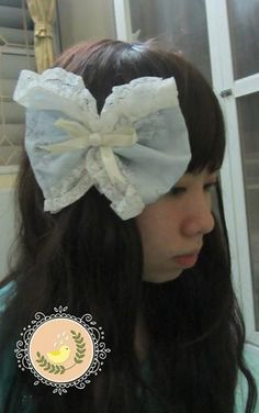 Corsage for my new Mori Girl design #Morigirl #Corsage #Cuteribbon #Hairwear #NaturalKei Click on visit site to check out my shop :D