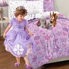 be perfect for her new princess bed!