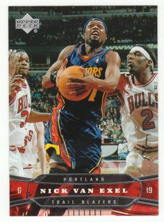 Nick Van Exel # 161 - 2004-05 Upper Deck Basketball