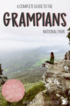 A Complete Guide to the Grampians National Park One of the best adventures you can take from Melbourne is definitely a day trip out to the mighty Grampians - a stunning mountain range and forest that rises out of nowhere in the farmland of Victoria and of Brisbane, Sydney, Outback Australia, Visit Australia, South Australia, Western Australia, Tasmania Australia, Melbourne Australia, Cairns