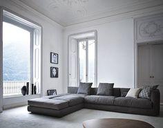 The modular sofa, Vibieffe Evosuite by Innocenti Arredamenti