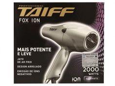 Secador de Cabelo 2000W 2 Velocidades - Taiff Fox Íon com as melhores condições você encontra no Magazine Ciabella. Confira!