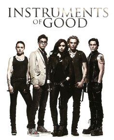 Instruments of Good {Isabelle, Simon, Clary, Jace & Alec} TMI