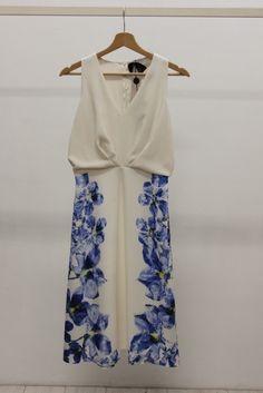 LEANDRO★ MaxMara Elegante キャディプリントドレス 2016SS(20680689):BUYMA (バイマ)