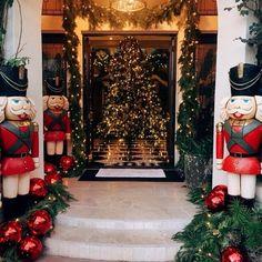 Kardashian Christmas Decorations: How Much Do They Cost Christmas Mood, Outdoor Christmas, Christmas Lights, Merry Christmas, Luxury Christmas Decor, Family Christmas, Kris Jenner House, Kardashian Christmas, Kardashian Family