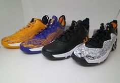the best attitude 5426b f8d7d adidas Crazy Quick 2 Low Jeremy Lin Enter the Dragon Pack. Four pairs of adidas  Crazy Quick 2 Lows for Jeremy Lin inspired by the Lakers.