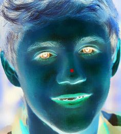 Stare at his lil red dot on his nose for 30 seconds then stare at blank wall with no One Direction posters on it which is kinda hard but find a wall and blink and u will see Niallers beautiful face!!