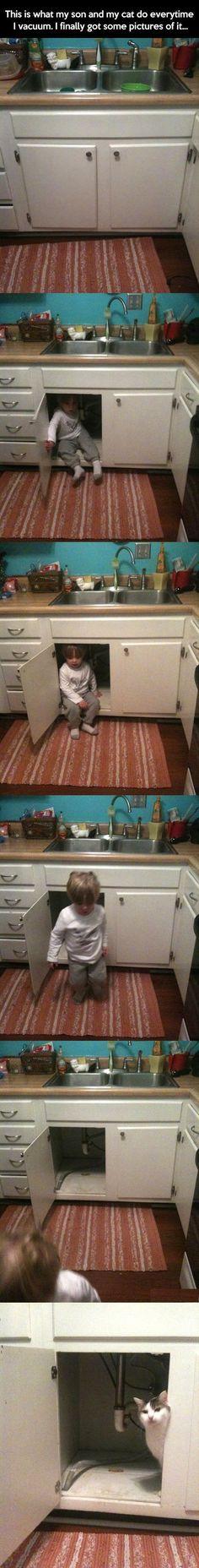 Beware. The vacuum cometh...
