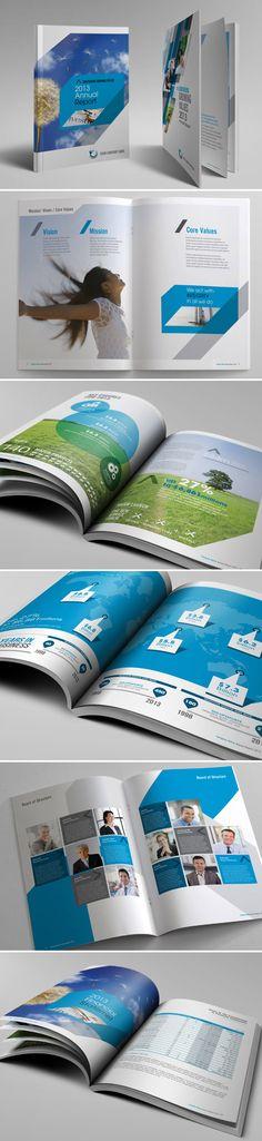 annual report design inspiration 2012 - Google Search