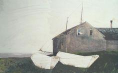 cydoniasan:  The Sisters.1990.Andrew Wyeth, American, 1917-2009.