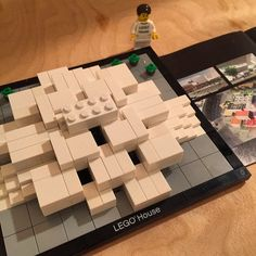 Friends recently toured #LEGO's global headquarters in Bilund, Denmark and brought back an exclusive set of their future campus. It was a deceptively complicated build, but I respected the fact they used standard, non-custom bricks to design it.