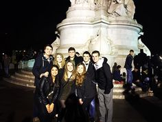 Dublin squad goes to London. Happy New Year!  by joslyn2233
