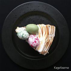 Påske citronkage med marengs  - Easter lemon meringue cake
