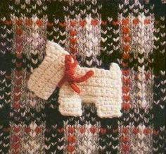 Patrón #1384: Figura de Perro a Crochet #ctejidas http://blgs.co/7-KuS2
