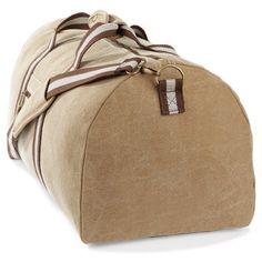 Reisetasche 'Desert Canvas Holdall', Farbe:Sahara: Amazon.de: Koffer, Rucksäcke & Taschen