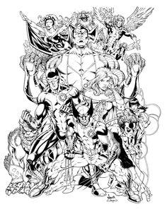 X-Men by Todd Nauck