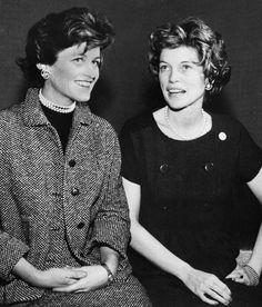 Jean Kennedy Smith and Eunice Kennedy Shriver
