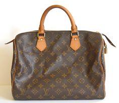 vintage Louis Vuitton speedy 30 bag refurbished