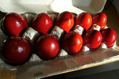 Perfect Pascha Red Eggs