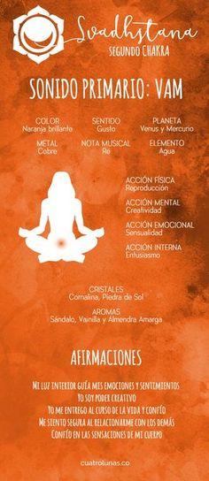 Cómo armonizar el segundo chakra – Svadhstana