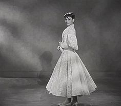 Audrey Hepburn, Screen Test for Roman Holiday, 1953.