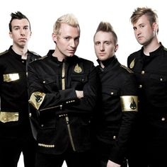 """Thousand Foot Krutch: fav songs...""""Welcome to the Masquerade"""", """"Fly on the Wall,"""" """"The End Is Where We Begin,"""" and """"The Art of Breaking."""""""