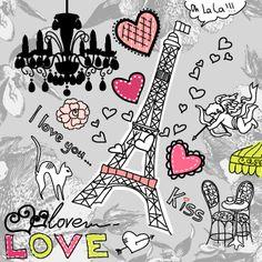 Διακόσμηση δωματίου εμπνευσμένη από την πιο ρομαντική πόλη του κόσμου, το Παρίσι