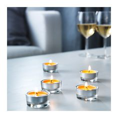 SINNLIG Scented tealight  - IKEA $3 for 30