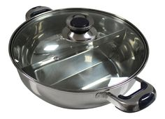 HCX 30 cm Shabu Shabu Dual Sided Hot Pot With Divider * This is an Amazon Affiliate link. Click image for more details.