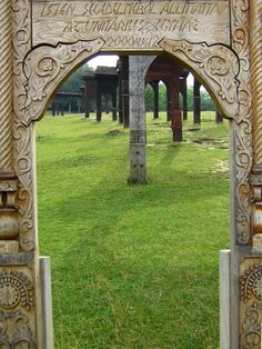 Farkaslaka, Tamási Áron emlékmű - Transylvania Homeland, Hungary, Arch, Outdoor Structures, History, Amazing, Garden, Garten, Arches