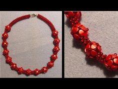 [Anleitung/Tutorial] Kette mit Pinch Beads Kugeln - DIY [Perlen, RAW] - YouTube
