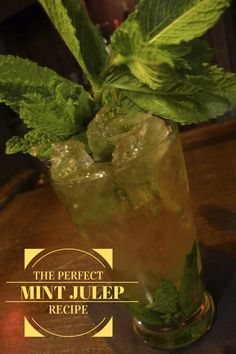 The Perfect Mint Julep Recipe --> http://www.hgtvgardens.com/recipes/mint-julep-recipe?soc=pinterest